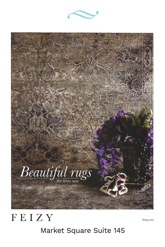 feizy rugs high point market